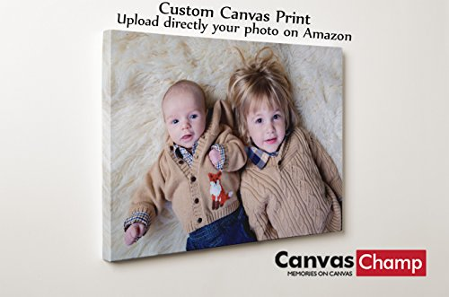 Canvas Champ Your Image Turn Into Canvas Art Print (8'' x 8'') by Canvas Champ