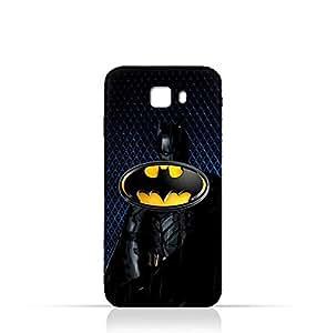 Samsung Galaxy C7 Pro TPU Silicone Protective Case with Batman Design