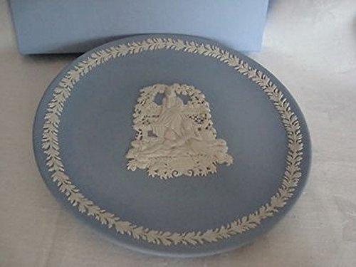 Wedgwood 1998 Mother's Day Plate Light Blue Jasperware
