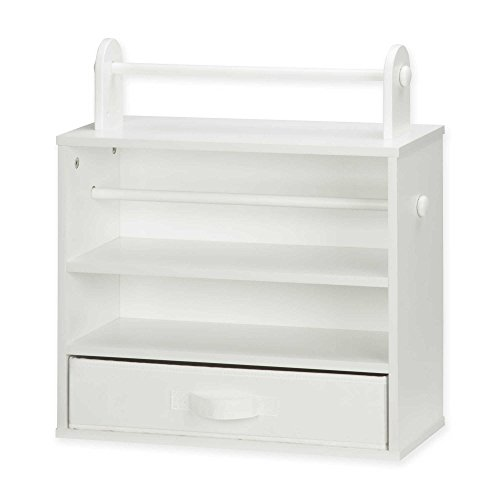 Honey-Can-Do Tabletop Craft Storage Center in White by Honey-Can-Do®