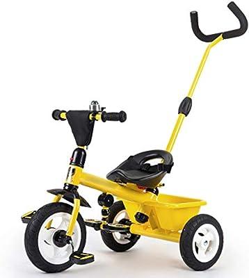 Jian E E-Carro Triciclo de niños Bicicleta Bebé 1-3-5 años de Edad ...