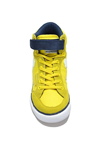 Bleu Boston Tennis Fille Classic Giallo DrunknMunky blu de Chaussures wZYqadffx