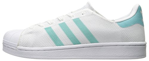 white Adidas W White Superstar Basses Sneakers Mint easy Femme BvO4q