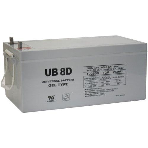 UPG 40702 Ub-8d Gel Sealed Lead Acid ()