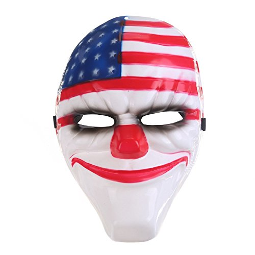 Party Mask Masqu Wholesale Scary Clown Mask Payday Halloween Mask For Party Mascara Carnaval 1 -