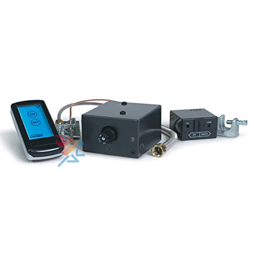 Millivolt Valve Kit (Skytech Manual On/Off Gas Valve Kit (AF-LMF-RD), On/Off Touch Screen Remote)
