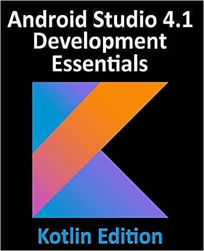 Android Studio 4.1 Development Essentials - Kotlin