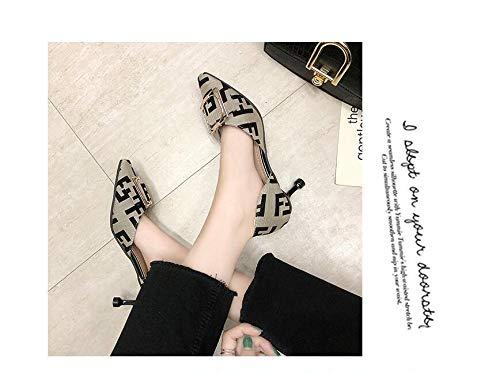 duduxiaomaibu Women Comfy Kitten Low Heel Mules Slip on Clog Sandals Open Toe Dress Pumps Slide Shoes ProDIgal