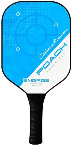 - Engage Poach Advantage Pickleball Paddle (Light Blue C.P. 7.9-8.3 oz)