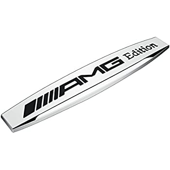 Amazon Com Automaze Amg Performance Emblem Sticker 3d Car Black
