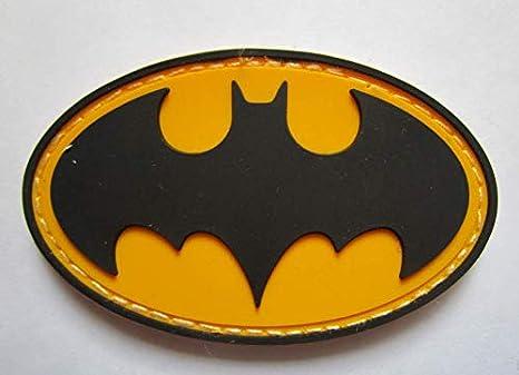 Parche táctico de Batman con insignias de goma de PVC para ropa con gancho: Amazon.es: Juguetes y juegos