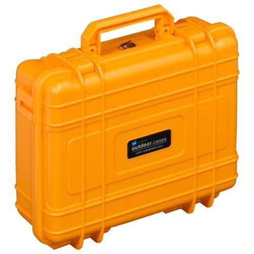 B&W Outdoor Cases Typ 10 SI ( Schaumstoffeinsatz) orange