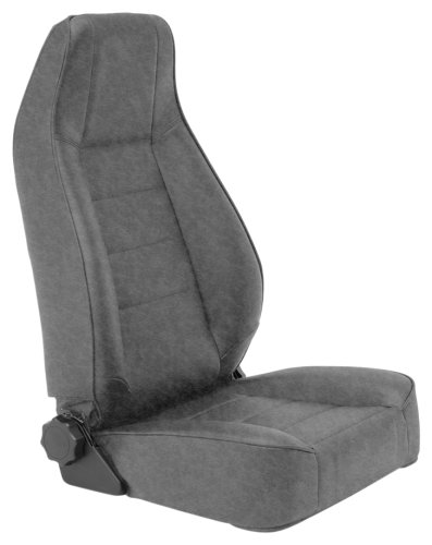 Smittybilt 45011 Denim Gray Factory Style Replacement Front Seat ()