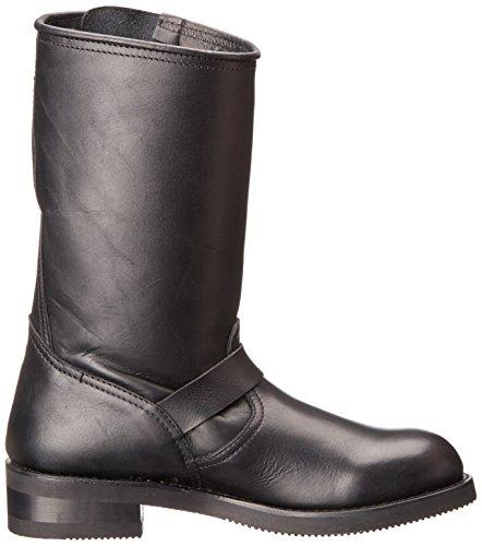 Sendra Mens Enginer Tall Boot Black Matebo