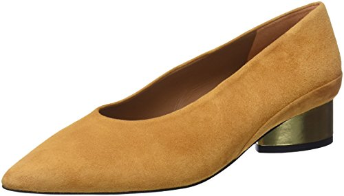 sale factory outlet INTROPIA Women's P956zap06422 Closed Toe Heels Yellow (Mango 113) high quality for sale 2015 new cheap price affordable online OyNENi