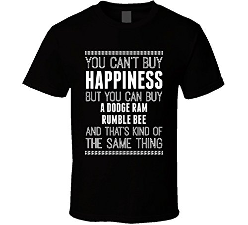- Buy a Dodge Ram Rumble Bee Happiness Car Lover T Shirt S Black