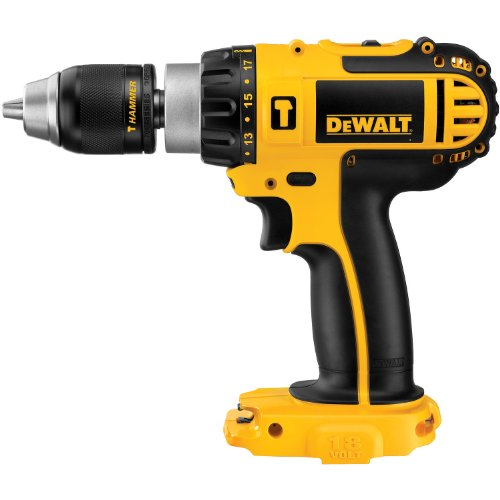 [DEWALT Bare-Tool DCD775B 1/2-Inch 18-Volt Cordless Compact Hammerdrill (Tool Only, No Battery)] (Dewalt 18v Hammer Drill)