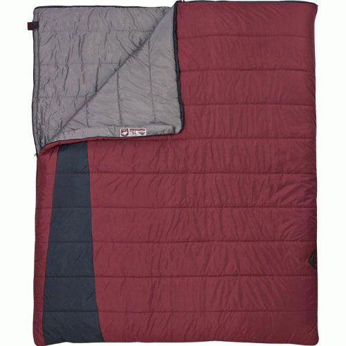 Kelty Callisto 15 Degree Rectangular Synthetic Sleeping Bag, Double, Outdoor Stuffs