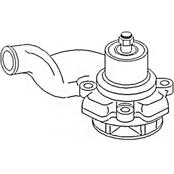 Amazon Com 741103m1 New Tractor Water Pump Pulley Made To Fit Mf