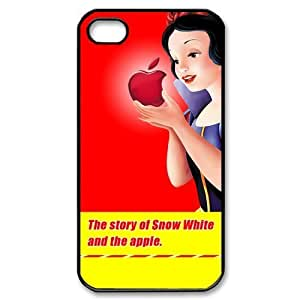 Girl's fantasy object Snow White iphone 4 4s Plastic Hard cover case