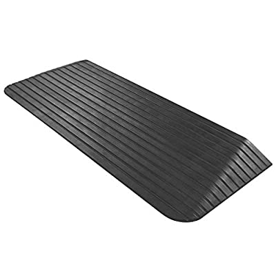 Silver Spring Solid Rubber Power Wheelchair Threshold Ramp