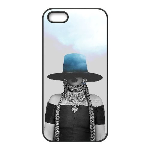 - iphone5/5s Hard Plastic Case,Famous Singer Beyonce Giselle Knowles Phone Case for iphone5 iphone5s,Black