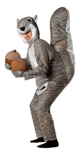 Rasta Imposta Squirrel Costume, Gray, One (Halloween Costumes Squirrel)
