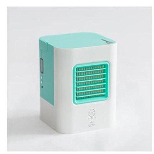 Mini portable Ventilador de escritorio aire acondicionado,Usb aire acondicionado pequeño humidificador ventilador con manija...