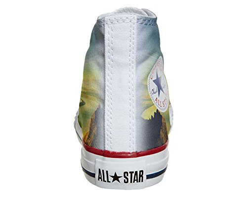 Converse All Star Customized - zapatos personalizados (Producto Artesano) River