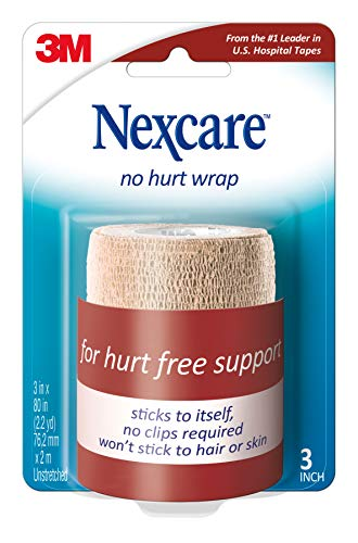 Discount Sports Supplements - Nexcare Coban Self-Adherent Wrap, 3-Inch x 5-Yard Roll, 1-Count Boxes (Pack of 6)
