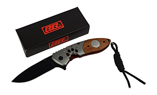Rogue-River-Tactical-Wolf-Imprint-Pocket-Knife-Spring-Assisted-Folding-Tracks-Hunting-Knife