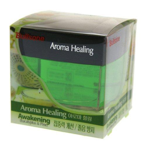 Bullsone Car Air Freshener, [Eucalyptus & Pine] Aroma Healing Awakening