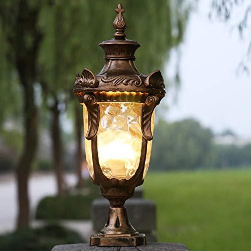 Outdoor Lighting For Brick Pillars in US - 3