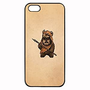 Ewok Unique Custom Image Case iphone 5 case , iphone 5S case, Diy Durable Hard Case Cover for iPhone 5 5S , High Quality Plastic Case By Argelis-sky, Black Case New