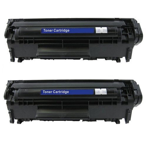 AZ Supplies © Compatible 2PK Replacement Toner Cartridges for Canon 104, FX9 for use in Canon FAX L100,L140,L120,FaxPhone L90,iSensys MF4150,HP LaserJet 1010,3030,3050,3055,M1005MFP,M1319MFP,LBP3000