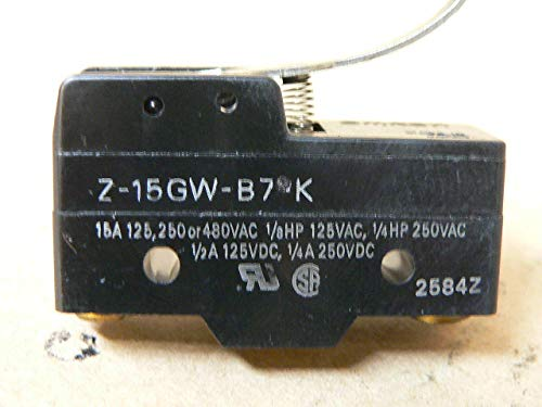Omron Z-15GW-B7K Limit Switch Top Lever SPDT 15 A 250 VAC New