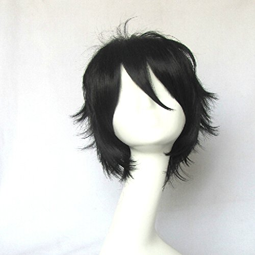Ano Hi Mita Hana no Namae wo Boku-tachi wa Mada Shiranai Jinta Yadomi Black Short Cosplay Wig