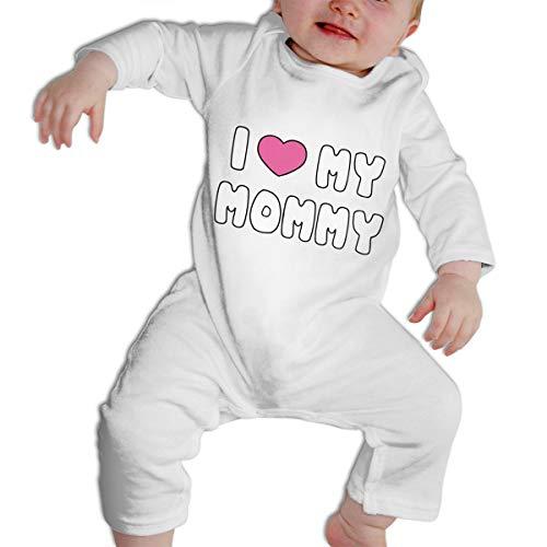 SARA NELL I Love Mommy Baby Boys & Girls Bodysuit Onesies Long Sleeve