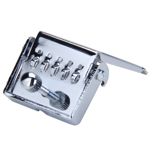 BANJO TAILPIECE CLAMSHELL Plate 5 String Chrome by Generic (Image #2)