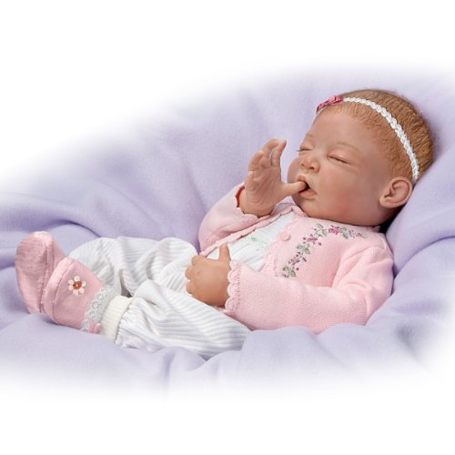 Baby Doll: Sweet Dreams, Little Ava So Truly Real by The Ashton-Drake Galleries by The Ashton-Drake Galleries (Image #4)