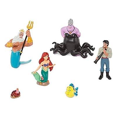 Disney 6 Piece The Little Mermaid Figurine Play Set: Toys & Games