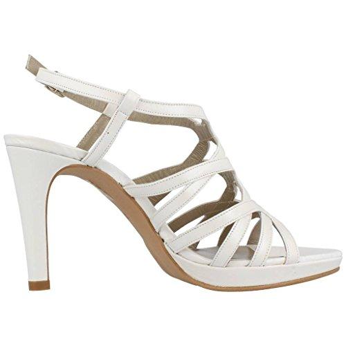 JONI Silber Marke Silber Farbe Damen Sandalen Modell Damen Sandalen VONDELPARK Weiß xHFx1qA