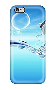For CHltzIN9861LuQLx Fish Dreamy World Protective Case Cover Skin/iphone 6 Plus Case Cover