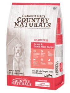Grandma Maes Country Naturals Grain-Free Single Protein Lamb Recipe Dry Dog Food, 14 Pound Bag ()