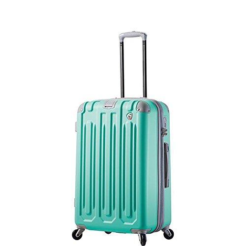 mia-toro-italy-gelato-hardside-26-spinner-luggage-mint