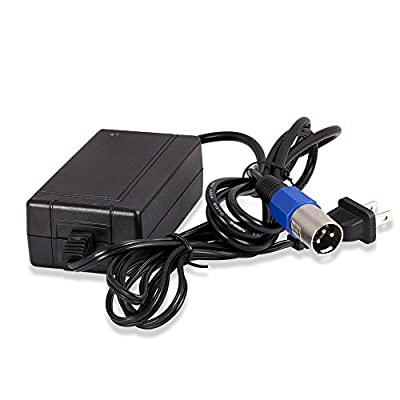 24V 2Amp GT ASTEROID GT200/250/300/350/500 SHOCKWAVE Scooter Charger - Mighty Max Battery brand product