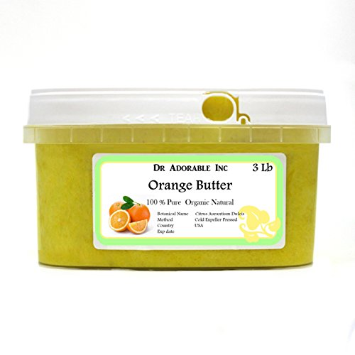 Orange Butter Organic 100 Pure 48 Oz