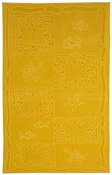 Design Sail Colore Pesca 100/% Cotone 380g//m2 Telo Mare XXL 100x200cm