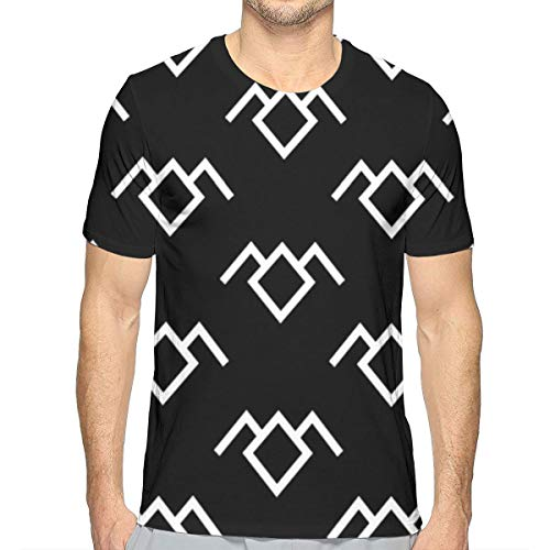 Twin Peaks Owl Petroglyph Men's Short Sleeve T-Shirt