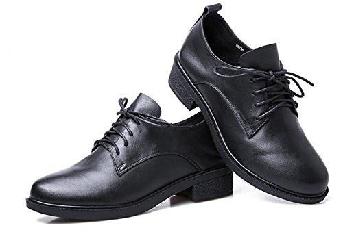 Frau im Frühjahr und Herbst Schuhe mit dicken mit der Dame Schuhen schnüren beiläufige Schuhe mit Schuhen erhöht , US6.5-7 / EU37 / UK4.5-5 / CN37
